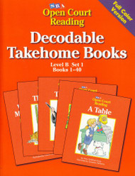 Open Court Reading Decodable Takehome Books Level B