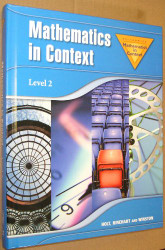 Math In Context Level 2 Student Edition Grade 7