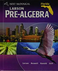 Mcdougal Pre-Algebra Florida Student Edition