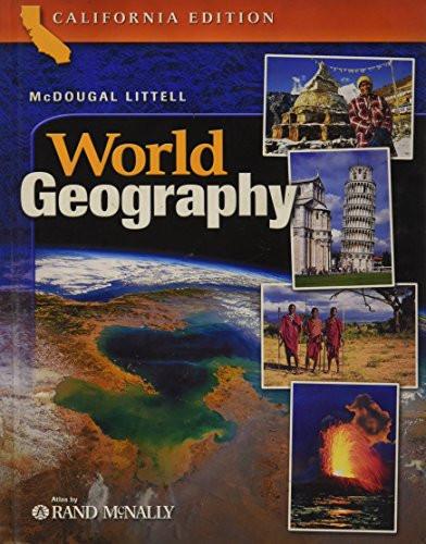 Mcdougal Littell World Geography California Edition