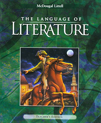 Language Of Literature Teacher's Edition Grade 8