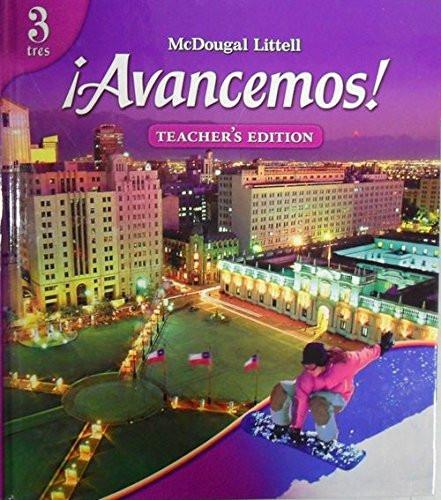 Avancemos! Teacher's Edition Level 3