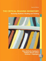 Critical Reading Inventory Assessing Student's Reading and Thinking