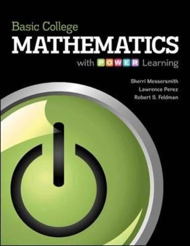 Basic College Mathematics With P.O.W.E.R Learning