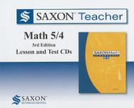 Saxon Math 5/4 Homeschool