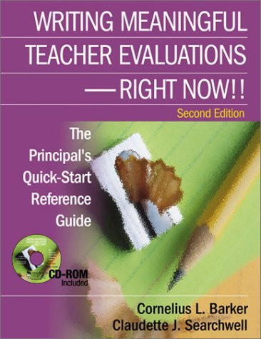Writing Meaningful Teacher Evaluations