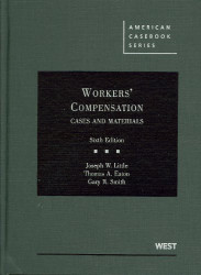 Workers' Compensation Cases And Materials 7Th