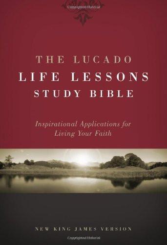 Lucado Life Lessons Study Bible NKJV
