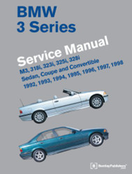BMW 3 Series (E36) Service Manual 1992 - 1998