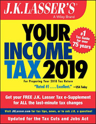 J.K Lasser's Your Income Tax