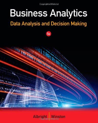 Business Analytics Data Analysis And Decision Making