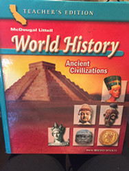 McDougal Littell World History California Grade 6 Ancient Civilizations
