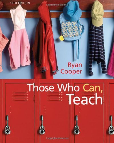 Those Who Can Teach