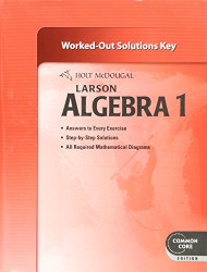 Algebra 1 - Solution Key
