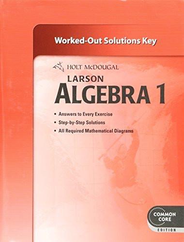 Algebra 1 - Solution Key