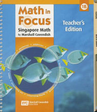 Math In Focus Singapore Math Teacher'S Edition Book B Grade 1 2009