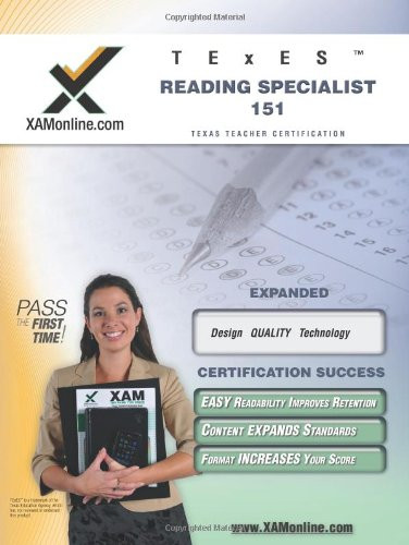 TExES Reading Specialist 151 Teacher Certification Test Prep Study Guide