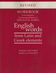 Workbook To Accompany The Of Donald M Ayers's English Words From Latin And
