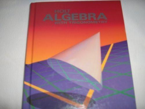 Holt Algebra 2 With Trigonometry
