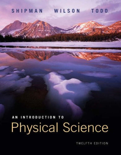 Introduction To Physical Science