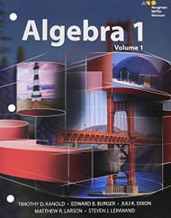 HMH Algebra 1 Interactive Volume 1 2015