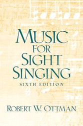Music for Sightsinging Sixth Edition