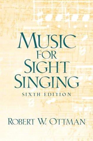 Music for Sightsinging Sixth Edition