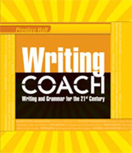 WRITING COACH 2012 NATIONAL STUDENT EDITION GRADE 6