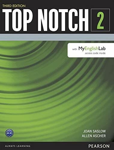 Top Notch 2 Student Book with MyEnglishLab