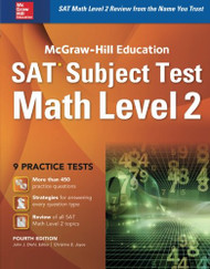 McGraw-Hill Education SAT Subject Test Math Level 2 .