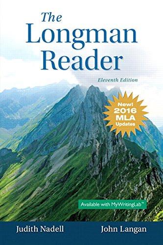Longman Reader MLA
