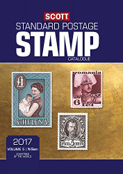 Scott 2017 Standard Postage Stamp Catalogue Volume 5: N-Sam: Countries of the