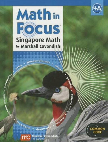 Math in Focus Singapore Math Book A Grade 4 2013