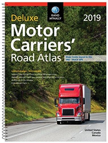 Rand Mcnally 2019 Motor Carriers' Road Atlas