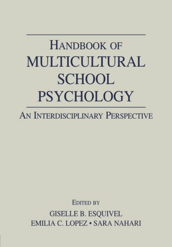 Handbook Of Multicultural School Psychology