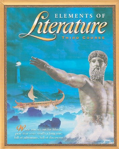 Elements Of Literature Student Ediiton Third Course