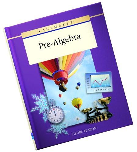 PACEMAKER PRE ALGEBRA SECOND EDITION SE 2001C