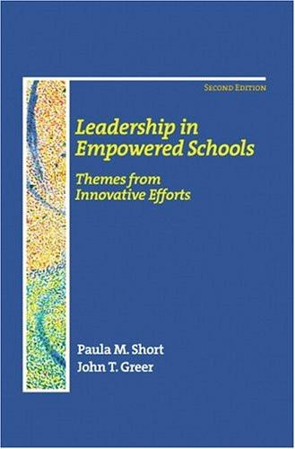 Leadership In Empowered Schools
