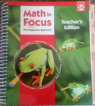 Math in Focus - Teacher's Edition