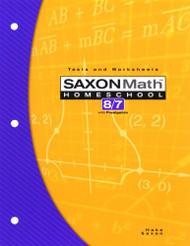 Saxon Math 8/7 Homeschool