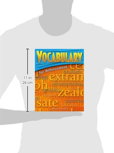 Great Source Vocabulary For Achievement Grade 7