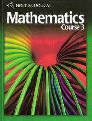 Mcdougal Mathematics Course 3 Student Edition
