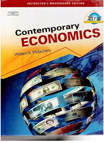 Contemporary Economics Teacher's Edition