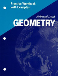 McDougal Littell Geometry Practice Workbook with Examples Teacher's Edition