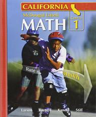 California Math Course 1