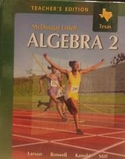 Algebra 2 - Teacher's Edition