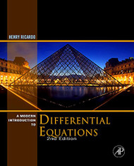 A Modern Introduction to Differential Equations Second Edition