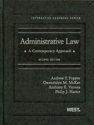 Administrative Law: A Contemporary Approach 2d