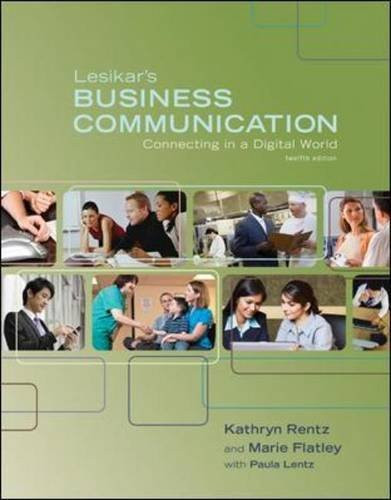 Lesikar's Business Communication