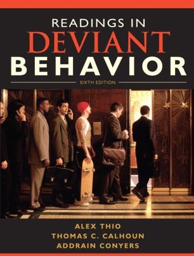Readings In Deviant Behavior